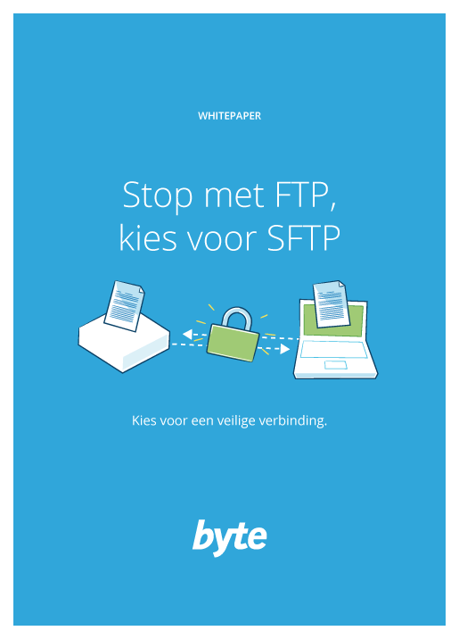 Download folder Stop met FTP, kies voor SFTP | Byte