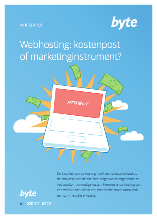 Download folder Webhosting: kostenpost of marketinginstrument? | Byte